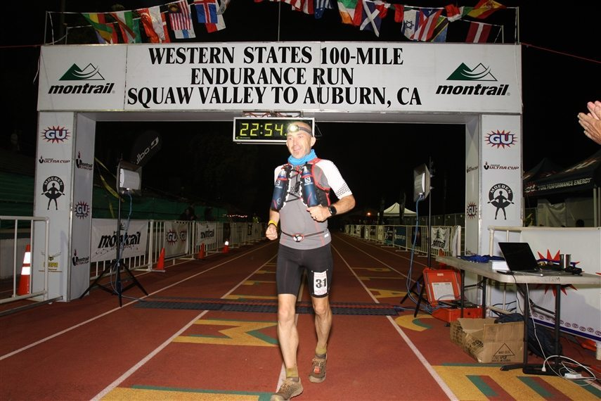 Steve Speirs at the 2014 Western States Endurance Run