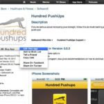 "Hundred Push-Ups iPhone App — ""Gift This App"" For Father's Day!"