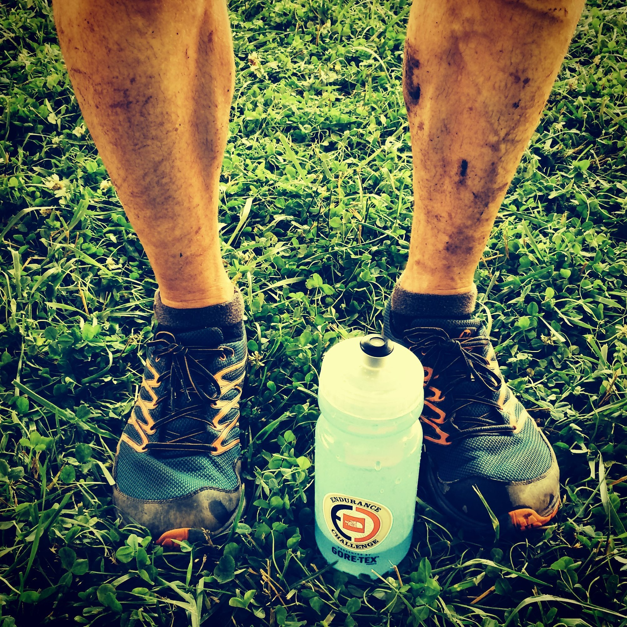 Post-race Happy Feet in the Merrell Bare Access Trail and Injinji TRAIL 2.0