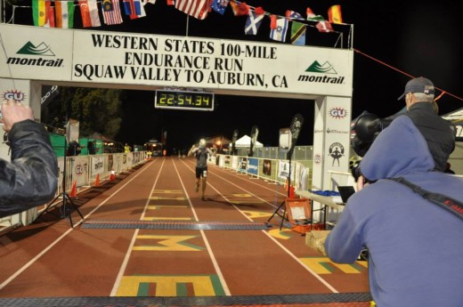 The Finish - Photo courtesy Ally Speirs