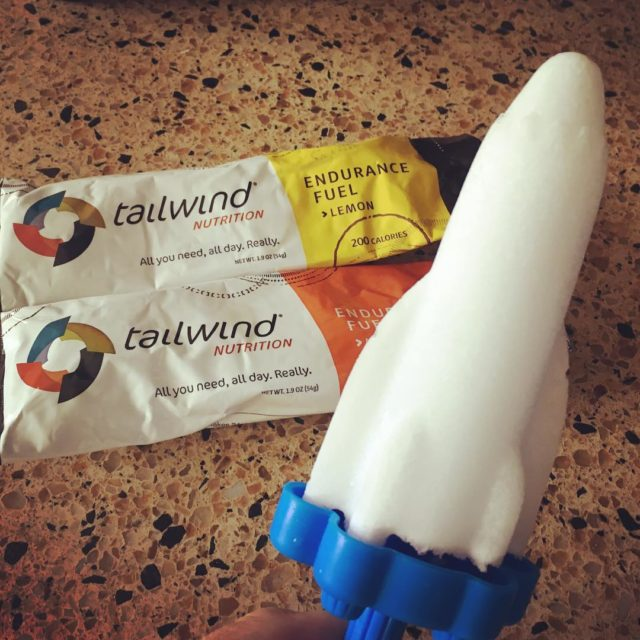 Gotta love the postrun popsicle! tailwindnutrition