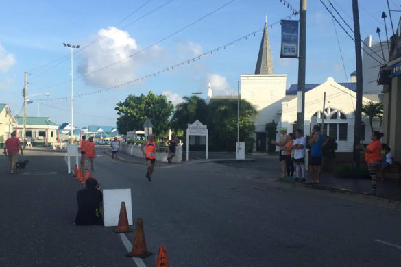 Cayman Marathon Finish