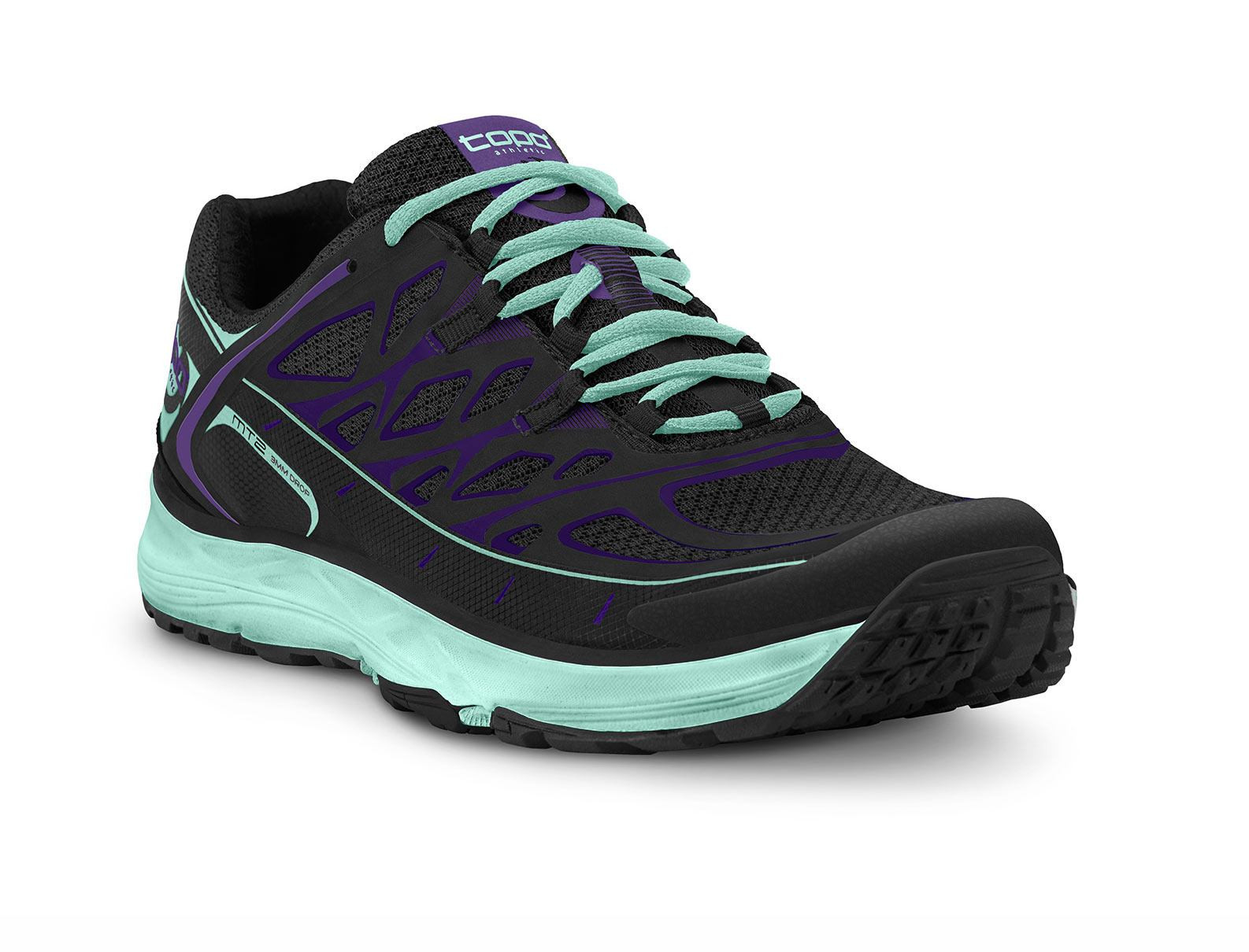 Trail Running Shoe With Roomy Toe Box
